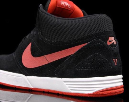 Nike SB P-Rod V Mid – Black – Sport Red