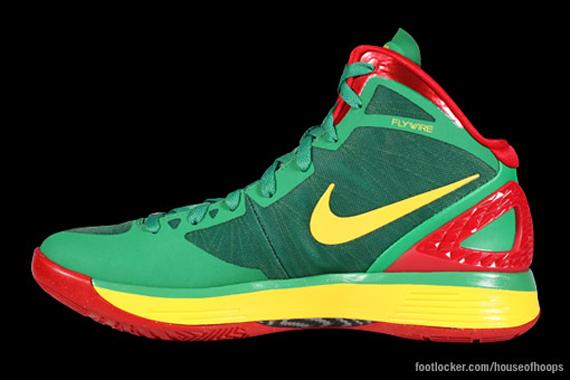 the latest 7928f 01737 nike zoom hyperdunk 2011 lithuania pe basketball shoes