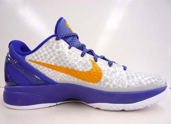 Nike Zoom Kobe 6 - White - Purple - Del