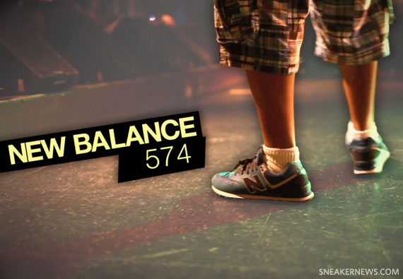new balance 574 history channel