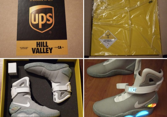 Unboxing The Nike Mag 2011