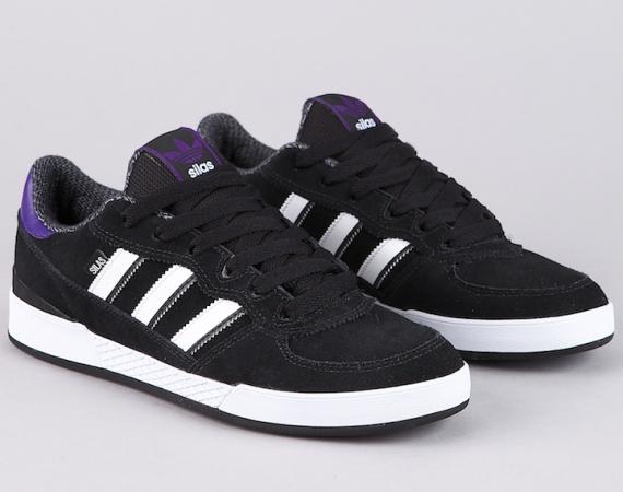 cdf49d292f5eb6 adidas Skate Silas - Black - Collegiate Purple - Running White ...