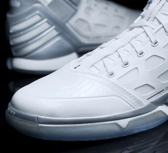 sports shoes 8a7bc f81b1 durable service adidas adiZero Rose 2.0 Silver Lining