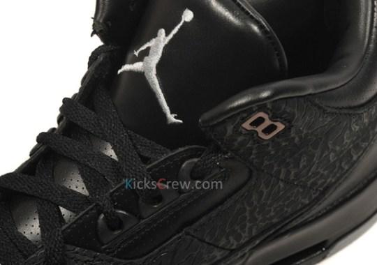 Air Jordan III 'Black Flip' – Euro Release Date