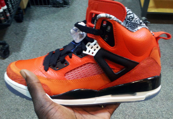 Air Jordan Spizike New York Knicks Blue Ribbon Black Whi shoes