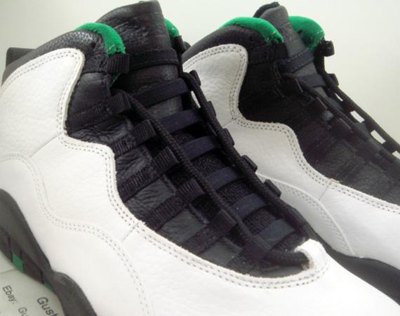 dc16228046aea0 Air Jordan X  Seattle  - OG Pair on eBay - SneakerNews.com
