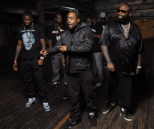 Celebrity Feet: Maybach Music Group Wears Air Jordans During Cypher