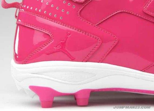 Jordan Brand Breast Cancer Awareness NFL Cleat PE's