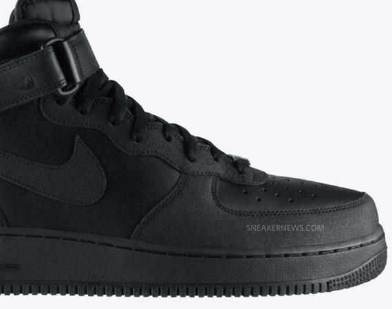 new style ce394 2ec8c Nike Air Force 1 Mid Tec Tuff Black Black 315123-009. Advertisement. show  comments