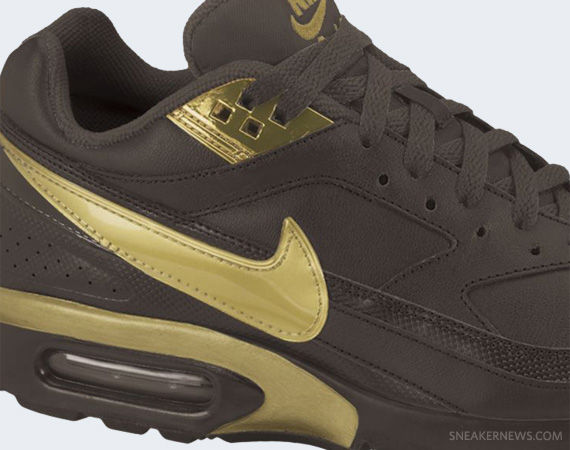 premium selection b43ed fd77e Nike Air Classic BW – Brown – Gold