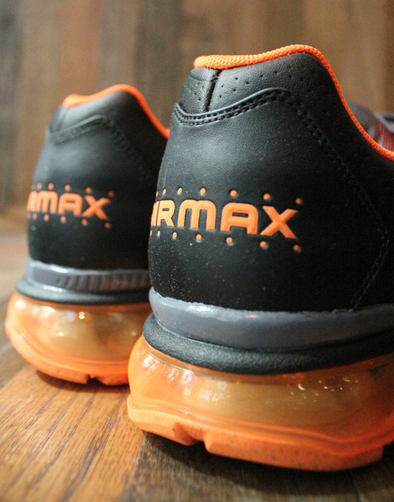 Nike Air Max+ 2011 - Black - Total Orange - Dark Grey ...
