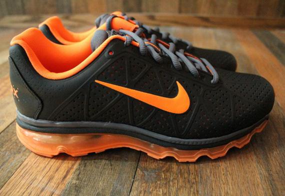 Nike Air Max 2011 De Color Naranja Negro