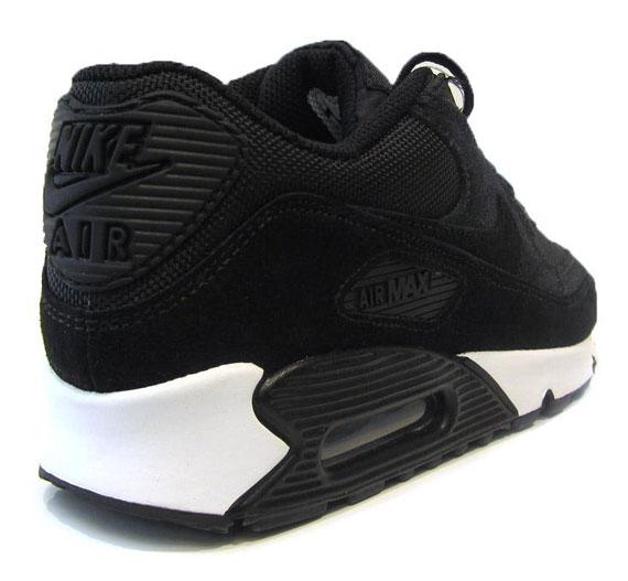 Nike Air Max 90 All Black Suede