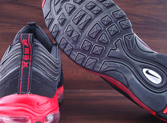 6936a1dbd3254a Nike Air Max 97. Black Challenge Red-Black 312641-065. show comments