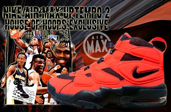 Nike Air Max Uptempo 2 Max Orange Black