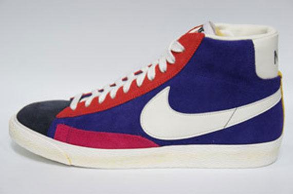 Nike Blazer Qs Hi Vintage - Fond Multicolore
