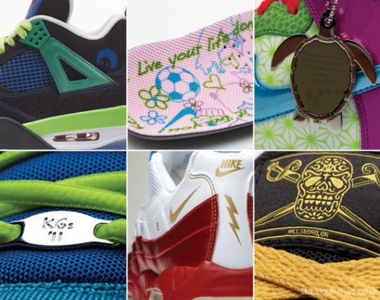 Nike x Doernbecher Freestyle VIII Collection