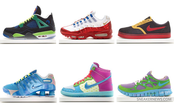 sports shoes f66db 41287 Nike Doernbecher Freestyle 2011 Collection - SneakerNews.com