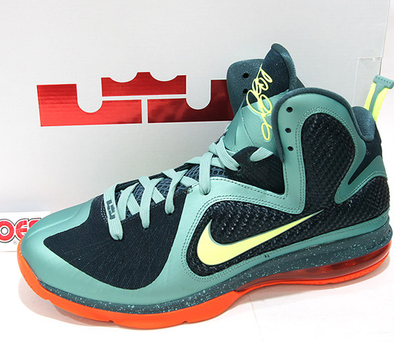 official photos ccaf9 c8ba1 Nike LeBron 9 Cannon - Release Date Change - SneakerNews.com