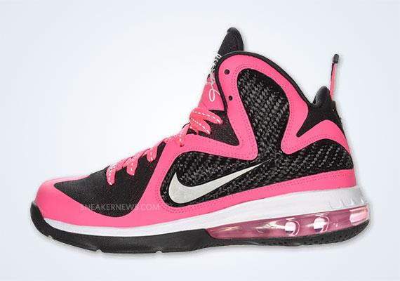 Nike LeBron 9 GS 'Laser Pink