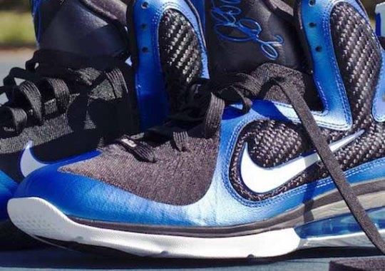 timeless design a585d c4f18 Nike LeBron 9  Kentucky  – Black – Blue