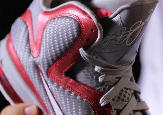 Nike LeBron 9 – Ohio State Buckeyes PE
