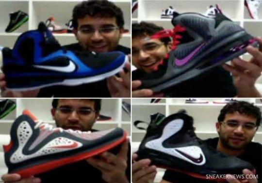 Jason Petrie Teases Unreleased Nike LeBron 9 Colorways