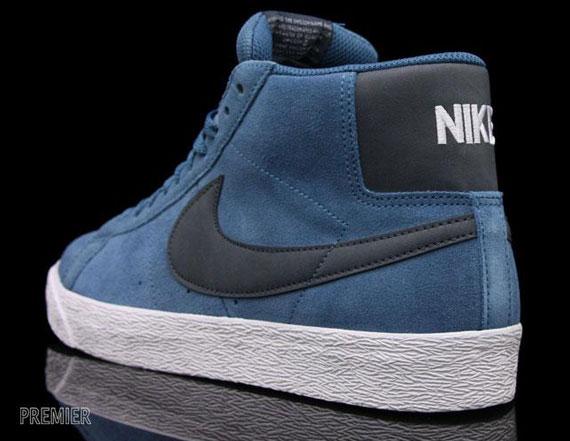 nike sb blazer high blue