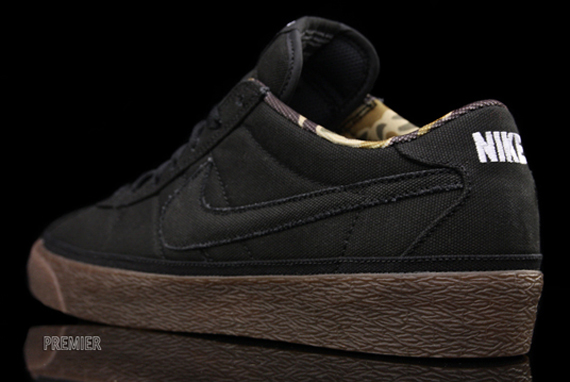 brand new 3018a ccc0a Nike SB Zoom Bruin - Black - Gum - Camouflage - SneakerNews.