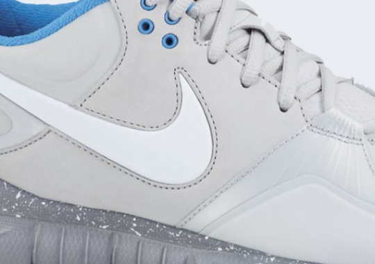 Nike Trainer 1.3 Mid Shield – Neutral Grey – White – Stealth – Blue Glow