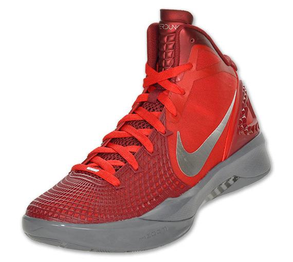 Nike Zoom Hyperdunk 2011 Supreme Sport Red Black