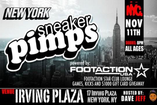 Sneaker Pimps NYC 2011