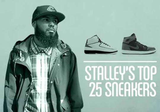 Stalley's Top 25 Sneakers Of All-Time