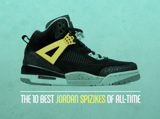 The 10 Best Air Jordan Spiz'ikes Of All-Time