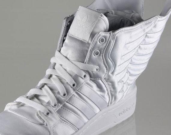 wholesale dealer eae47 964e3 2NE1 x Jeremy Scott x adidas Originals Wings 2.0 – White   Available