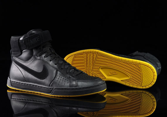 low priced e5f8d bfc8b Nike Air Flytop Black Black-Yellow 385225-008. Advertisement. show comments