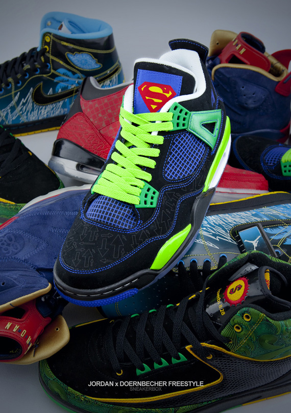 Air Jordan x Doernbecher Freestyle Showcase - SneakerNews.com