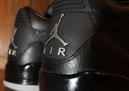 Air Jordan III 'Black Flip' – Arriving At Retailers