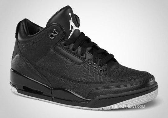 Air Jordan III 'Black Flip' – Release Date
