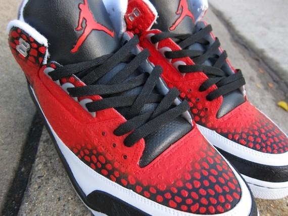 competitive price 32df7 86d05 Air Jordan III x Nike Zoom Kobe VI  All-Star  Customs by El Cappy