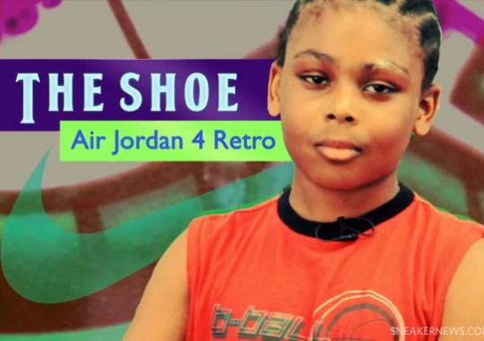 Air Jordan IV Doernbecher Designer Isaiah Scott