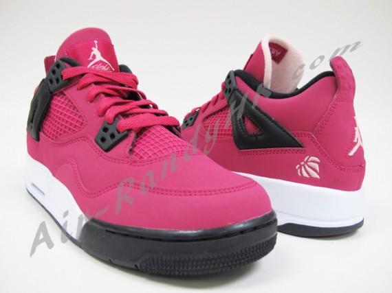 4037c09c83eeba Air Jordan IV GS - Voltage Cherry - Black - White - SneakerNews.com