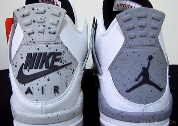 0ca6f64eb7b032 Air Jordan IV White Cement - 1999 vs. 2012 Comparison - SneakerNews.com
