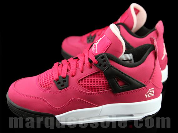 Air Jordan IV GS 'Voltage Cherry