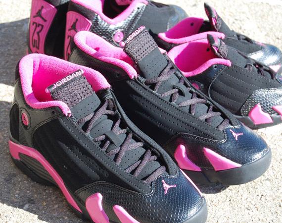 Air Jordan 14 Black Pink