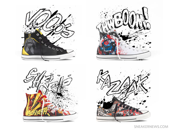 7134cc544a8 DC Comics x Converse Chuck Taylor All Star - Holiday 2011 Colorways ...