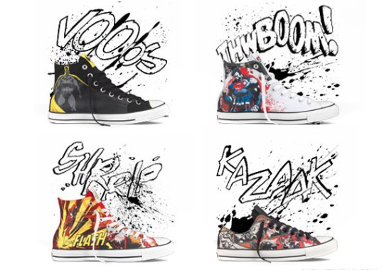 DC Comics x Converse Chuck Taylor All Star – Holiday 2011 Colorways