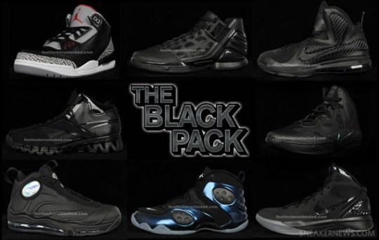 Foot Locker 'Kicksmas' – Black Friday 'Black Pack'