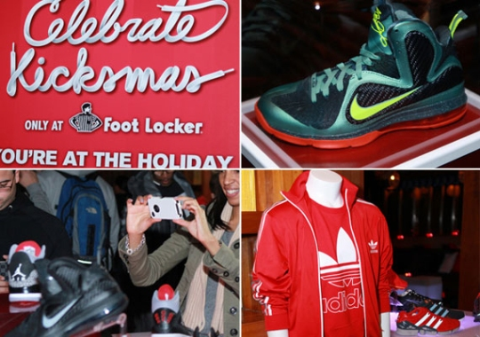Foot Locker x Complex Kicksmas Event Recap