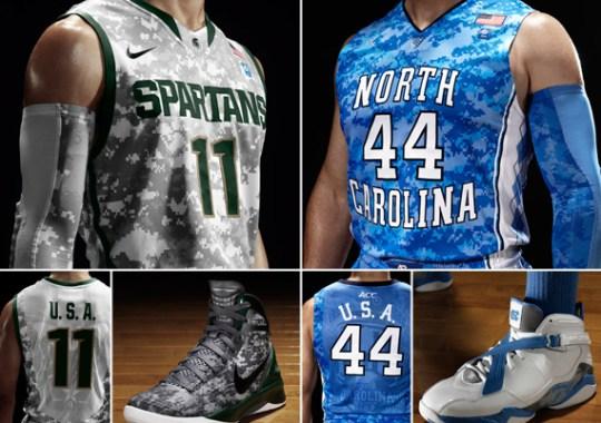 Jordan Brand/Nike Basketball 'Carrier Classic' Collection